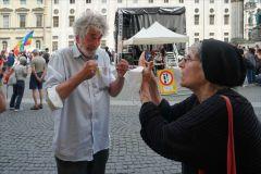Open-Air Kundgebung: Stopp G7 - No to NATO