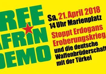 Solidarität mit #Afrin
